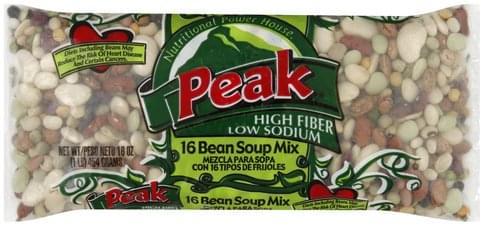 Peak 16 Bean Soup Mix - 16 oz
