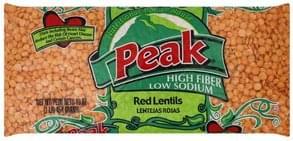 Peak Lentils Red