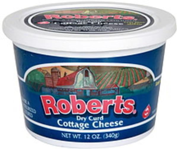 Roberts Dry Curd Cottage Cheese - 12 oz