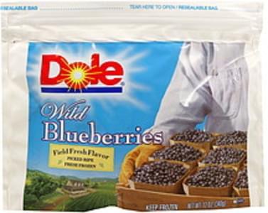 Dole Wild Blueberries Fresh Frozen