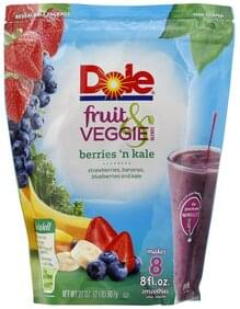 DOLE Fruit & Veggie Blends Berries 'n Kale