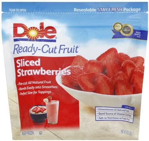 Dole Sliced Strawberries - 14 oz