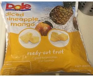 Dole Diced Pineapple Mango