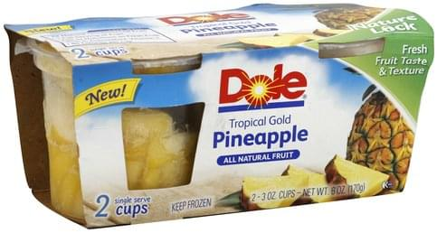 Dole Tropical Gold Pineapple - 2 ea