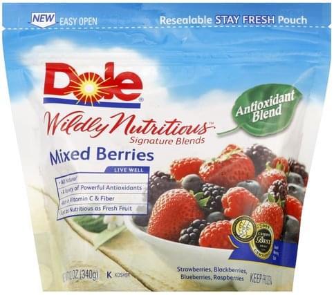 Dole Antioxidant Blend Mixed Berries - 12 oz