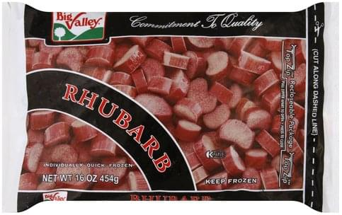 Big Valley Rhubarb - 16 oz