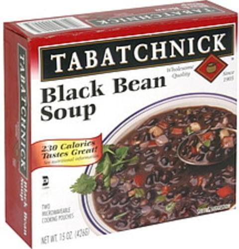Tabatchnick Black Bean Soup - 15 oz