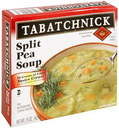 Tabatchnick Split Pea Soup - 2 ea