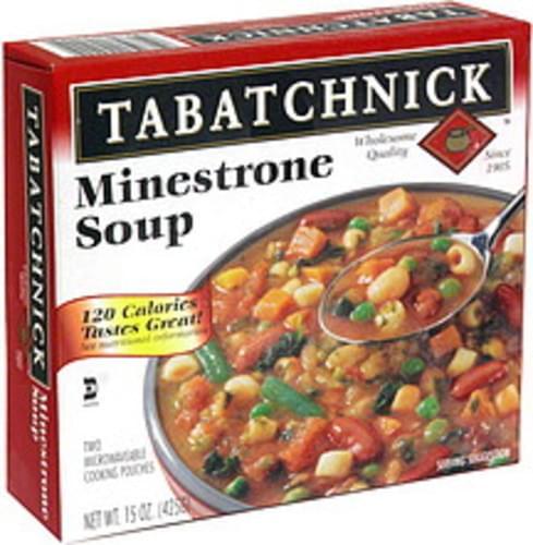 Tabatchnick Minestrone Soup - 15 oz