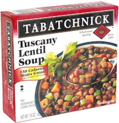 Tabatchnick Tuscany Lentil Soup - 15 oz