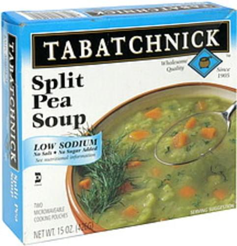 Tabatchnick Low Sodium Split Pea Soup - 15 oz