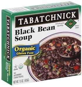 Tabatchnick Soup Gluten Free, Organic, Black Bean