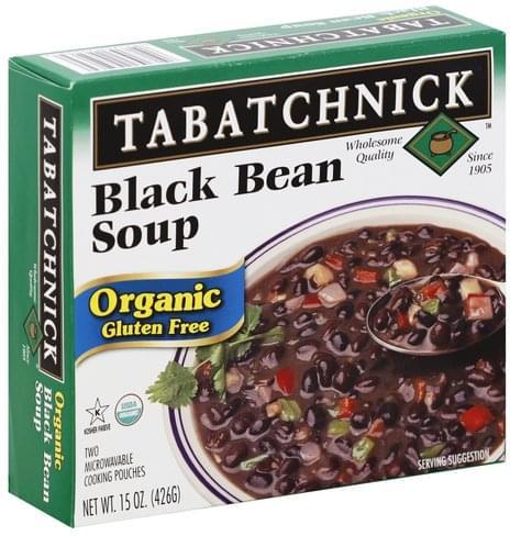 Tabatchnick Gluten Free, Organic, Black Bean Soup - 2 ea