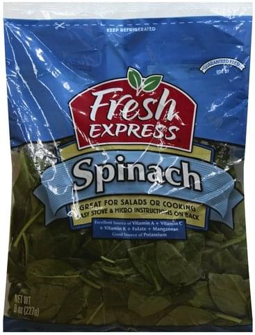 Fresh Express Spinach - 8 oz