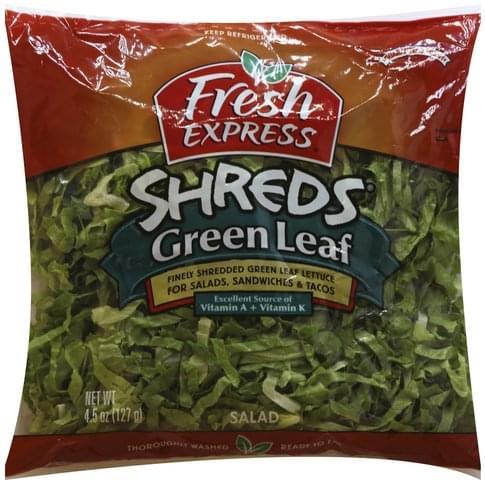 Fresh Express Green Leaf Salad - 4.5 oz
