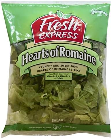 Fresh Express Hearts of Romaine Salad - 9 oz