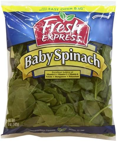 Fresh Express Baby Spinach - 5 oz
