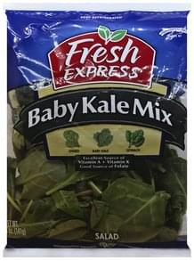 Fresh Express Salad Baby Kale Mix