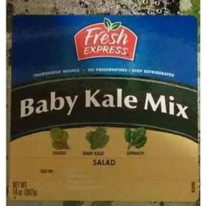 Fresh Express Baby Kale Mix