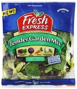 Fresh Express Salad Tender Garden Mix