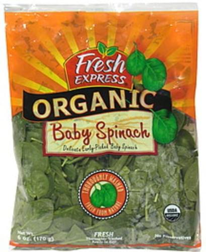 Fresh Express Baby Spinach - 6 oz