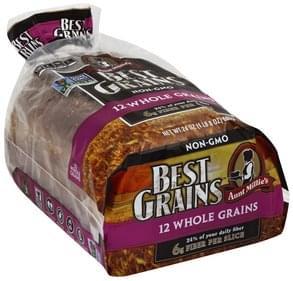Aunt Millies Bread Premium, 12 Whole Grains