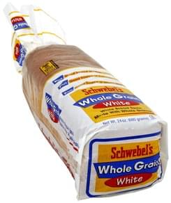 Schwebels Bread White, Whole Grain