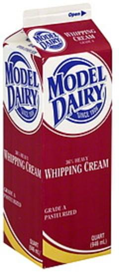 Model Dairy Whipping Cream 36% Heavy