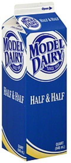 Model Dairy Half & Half