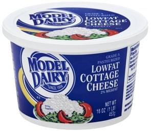Model Dairy Cottage Cheese 2% Milkfat, Lowfat