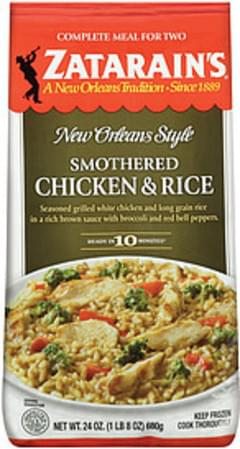 Zatarain's Complete Meal For Two Smothered Chicken & Rice