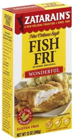 Zatarains Wonderful Fish Fri - 12 oz