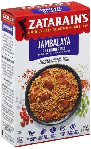 Zatarains Jambalaya Rice Dinner Mix - 8 oz