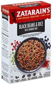 Zatarains Rice Dinner Mix Black Beans & Rice
