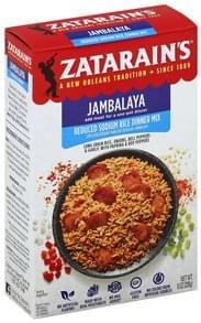 Zatarains Rice Dinner Mix Reduced Sodium, Jambalaya