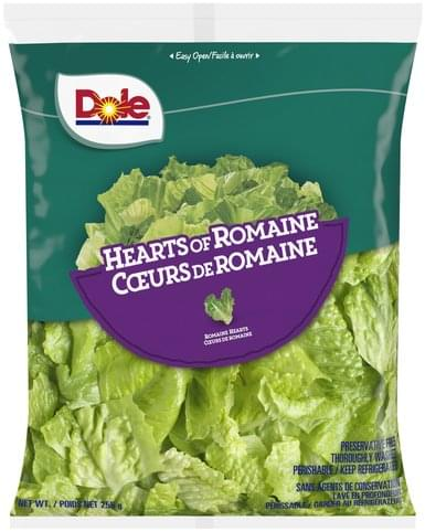 Dole Hearts of Romaine - 255 g