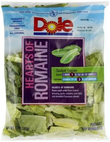 Dole Hearts of Romaine - 10 oz