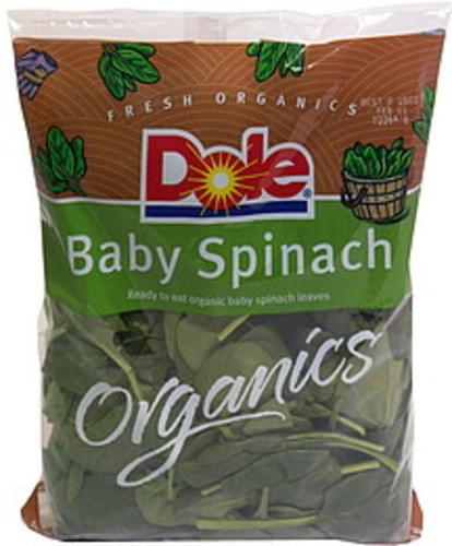 Dole Baby Spinach - 6 oz