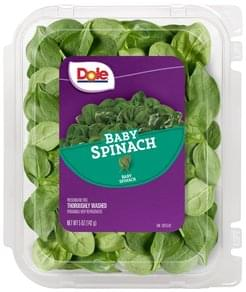 Dole Spinach Baby