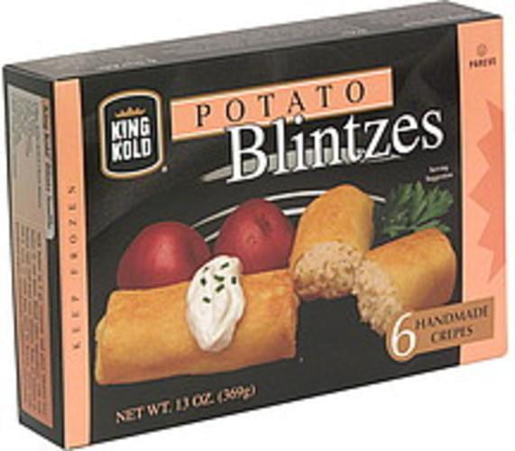 King Kold Potato Blintzes - 6 ea