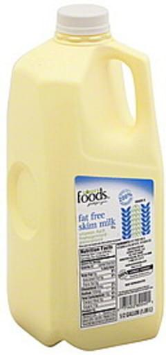 Lowes Foods Milk Skim, Fat Free