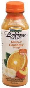 Bolthouse Farms 100% Fruit Juice Smoothie + Boosts Orange