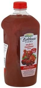 Bolthouse Farms 100% Fruit Juice Smoothie Multi-V Goodness, Cherry
