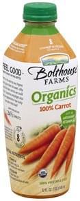 Bolthouse Farms 100% Juice Vegetable, 100% Carrot