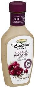 Bolthouse Farms Yogurt Dressing Creamy Balsamic