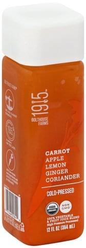 1915 Carrot 100% Vegetable & Fruit Juice Blend - 12 oz