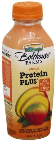 Bolthouse Farms Mango Protein Shake & Fruit Juice Beverage - 15.2 oz