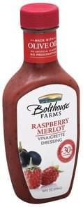 Bolthouse Farms Vinaigrette Dressing Raspberry Merlot