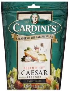 Cardinis Croutons Caesar, Gourmet Cut