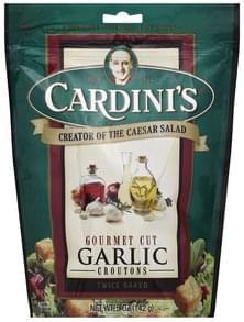 Cardinis Croutons Gourmet Cut, Garlic